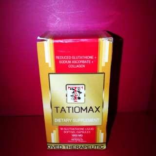 Tatiomax Glutathione liquid softgel 1600MG