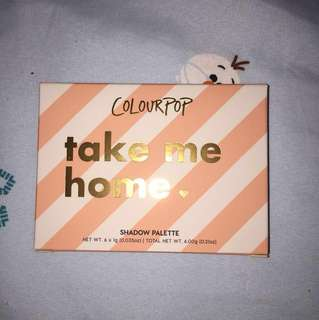 (INSTOCK) ColourPop Take Me Home Palette