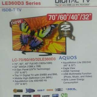 Sharp Led tv 70inch factory defect with one line dead pixel