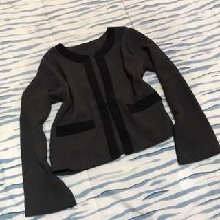 Blazer grey black