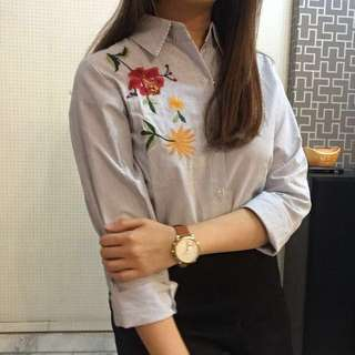 Embroidery formal shirt