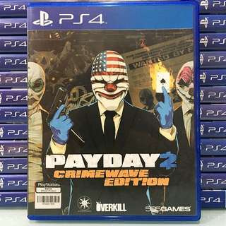 [PS4] Payday 2
