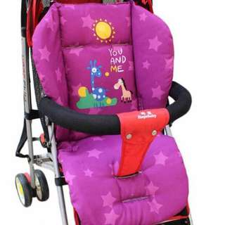 🌈(Ready Stock) 💯Brand New Baby Stroller / Pram / Car Seat / High Chair Cushion Pad - Star Animals Series