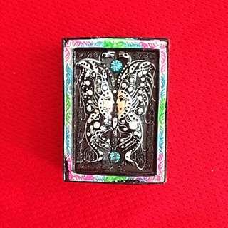 Kruba Krissana Butterfly Amulet BE2560