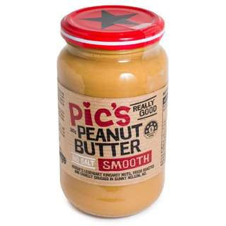 PIC'S PEANUT BUTTER SMOOTH (no salt)