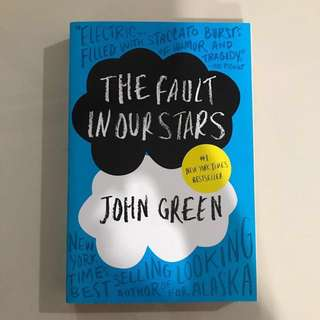 The Fault In Our Stars TFIOS by John Green