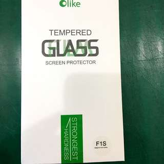 Oppo F1s tempered glass
