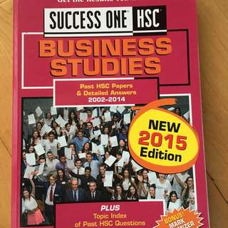 Excel Success One HSC Business Studies