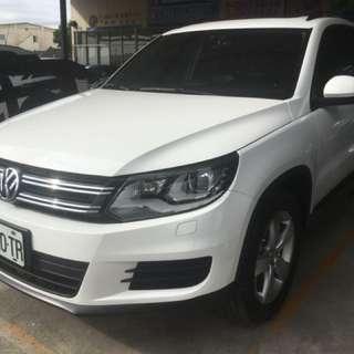 Volkswagen Tiguan 2013 1.4L