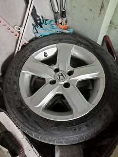 Honda stock Mags w/Tire