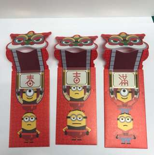 Red packet angpow uss minion