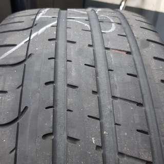 "17"" Pirelli P Zero tyre"