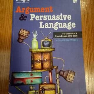 Insight Argument & Persuasive Language