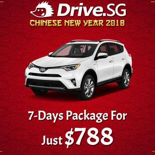 Drive.SG 7-Days CNY Package For Just $788
