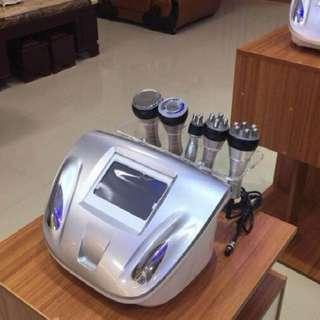 5 in 1 RF Machine + Cavitation + Vacuum Bipolar