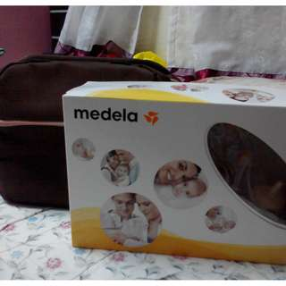 MEDELA BREAST PUM MANUAL(+ FREE BAG)