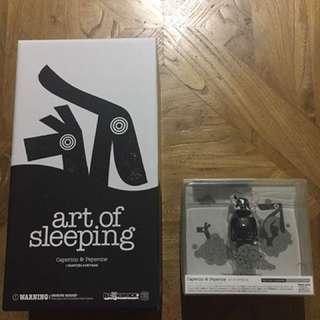 Bearbrick 400% art of sleeping