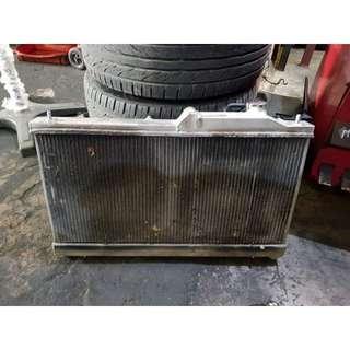 Subaru GT 2.5 T radioator fan