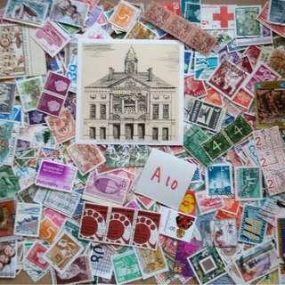 World Mix Stamps 500 pcs lot A10 BL505