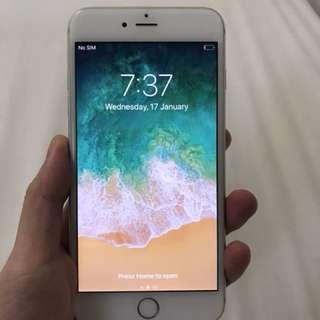 Iphone 6S Plus 64Gb silver 98% ex singapore non refurbished