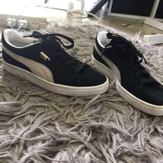 Suede Puma Sneakers