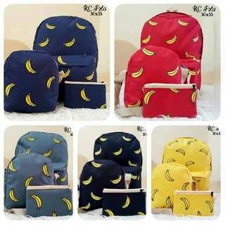 Tas wanita#tas backpack banana