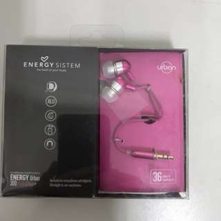 Energy Sistem Earphone ...NEW!!!