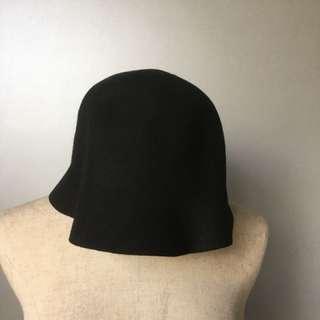 黑色魚夫帽