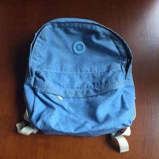 Heart Strings Blue Bag