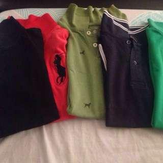 Polo shirts(take all)