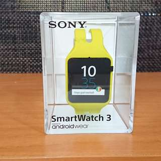 Sony SmartWatch 3 智能手錶