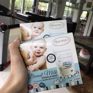 FREE Breast Milk Storage Bag