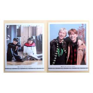 [OFFICIAL!!] Monsta X FIRST PRESS polaroid/photocard & posters
