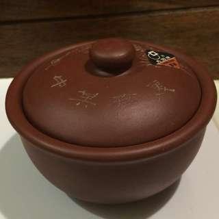 Purple clay Small steam Claypot