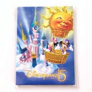Paris Disneyland 15 Anniversaries Magn Parade Large Magnet 2009 法國迪士尼15周年限量版磁石