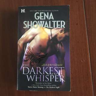 Import book: The Darkest Whisper