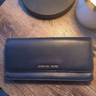 MICHAEL Michale Kors Daniela Wallet in Navy