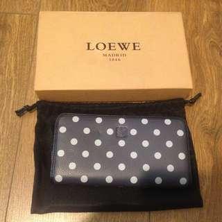 authentic loewe long wallet
