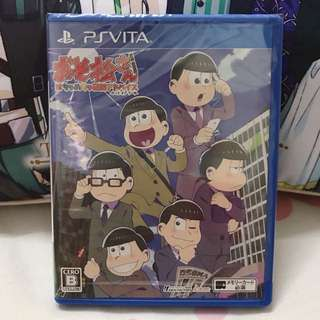 PSVITA Osomatsu san the game