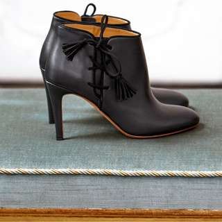 Low black boots Sezane  size 37 French Brand