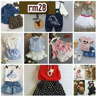 Clothes set for baby and kids