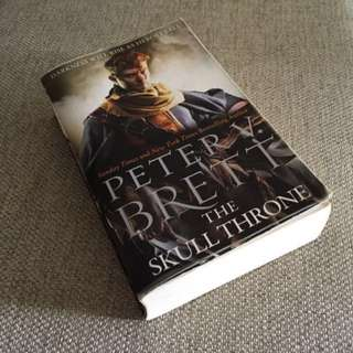 Bestselling Author Peter V. Brett, The Skull Throne.