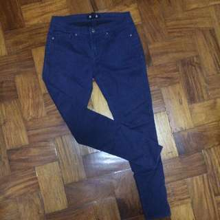 FOREVER 21 navy blue pants