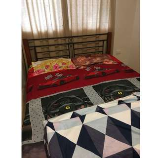2 Queen Size Bed with Mattress