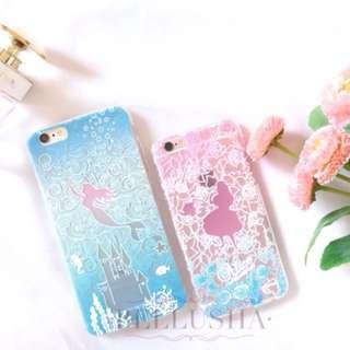 Alice Teapot and Mermaid Castle iPhone 6/6+/7/7+