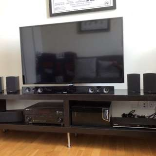 """Samsung 42"""" LCD TV with Home Theater System"""
