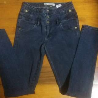 TOPSHOP Kristen Moto Jeans