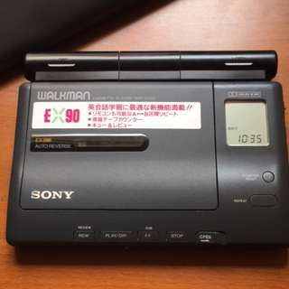 SONY WM-EX90 Walkman Cassette Player