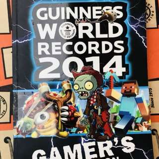 Guinness Records book 2014