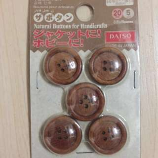 Natural Buttons for Handicrafts